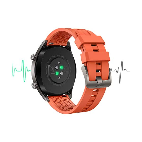 Huawei Watch GT Active - Reloj Inteligente, Naranja, 46 mm, Reloj 5