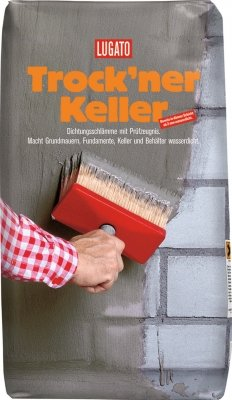 Lugato Trockner Keller Dichtungsschlämme 5 kg