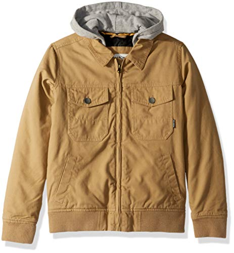 Billabong Boys' Big Barlow Twill Jacket -