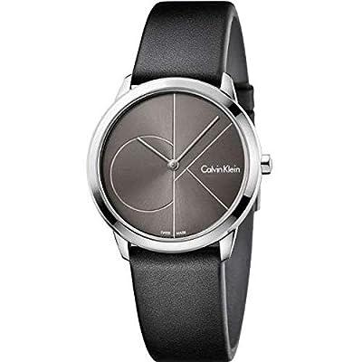 Calvin Klein Reloj Analógico para Mujer de Cuarzo con Correa en Cuero K3M221C3 de Calvin Klein