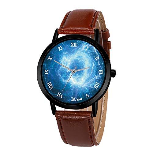 XZDCDJ Damen Uhr Armbanduhr Außenhandel-heiße Reihe Zhou Lianfa aus erster Hand Quelle des kreativen sternenklaren Himmels Jungen Uhr