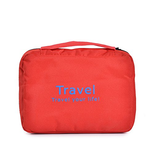 Anne Kulturbeutel Tragbare Reisetasche Paket rot