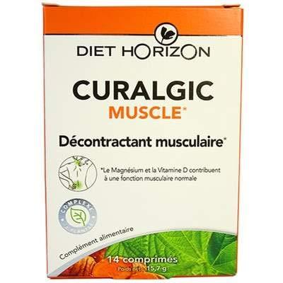 Curalgic Mucle, 14 comprimés