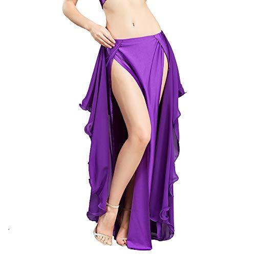 seleziona per autentico ultimo sconto cercare ROYAL SMEELA Gonna Costume di Danza del Ventre Gonne in Chiffon a Forma di  Danza delle Donne Breve Elegante Abbigliamento per Costumi di Danza Chiffon