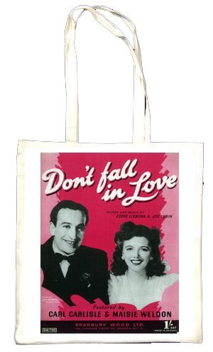 Don't Fall In Love Sac fourre-tout