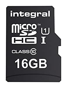 Integral 16GB microSDHC Class 10 90MB/s for Raspberry Pi 3