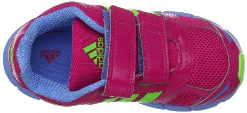 adidas Performance  adifast CF  I,  Scarpine primi passi unisex bambino rosa (Rose - Pink (BLAST PINK F13 / RAY GREEN F13 / JOY BLUE S13))
