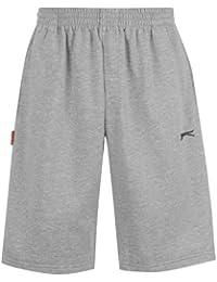 Short / Pantacourt polaire homme Slazenger gris