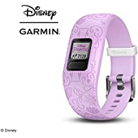 Garmin Vivofit Jr. 2 Disney Princess Activity Tracker for Kids - Purple