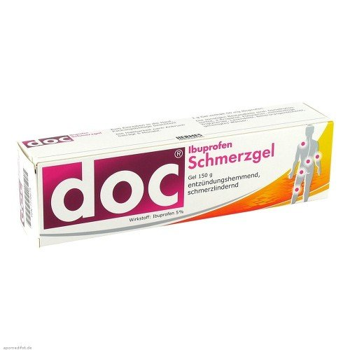 Doc Ibuprofen Schmerzgel, 150 g