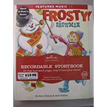 Hallmark Frosty the Snowman Recordable Book