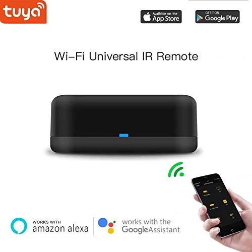 Intelligente Universal-IR-Fernbedienung mit Typ-C-Hub, Alexa Voice Control-Wechselstrom, TV, Rm-Mini-Fernbedienung Kompatibel mit Google Home, Unterstützung von IOS, Android-Telefon Tv Hub