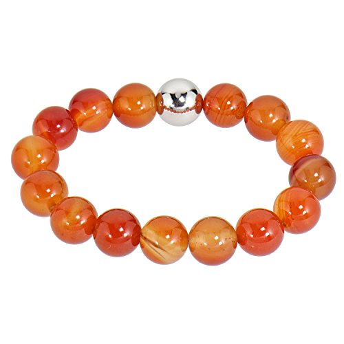 Lassiere Damen Armband Flex-Armband Achat orange
