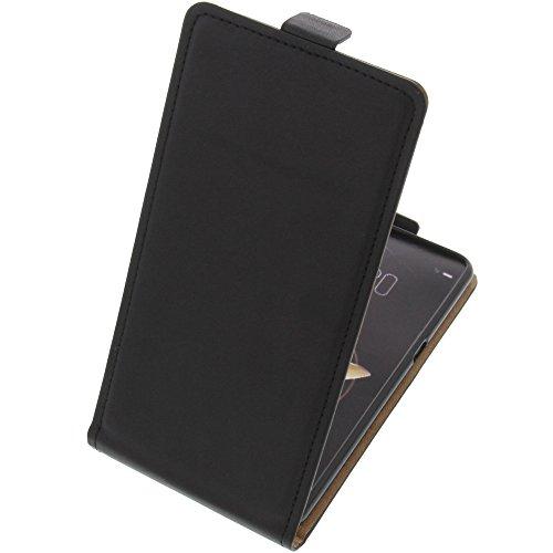 foto-kontor Tasche für Archos Diamond Gamma Smartphone Flipstyle Schutz Hülle schwarz