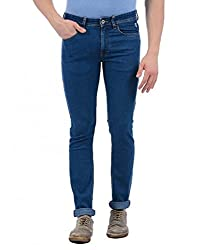Izod Slim Mens Black Jeans (Black, 36)