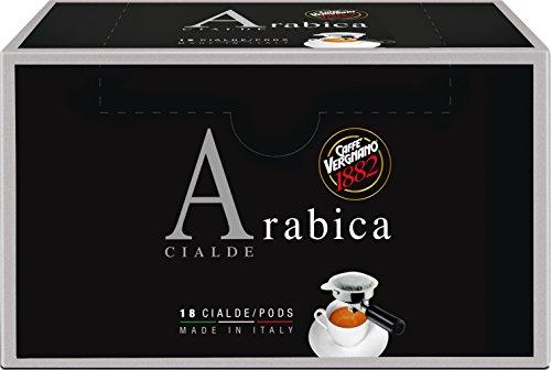 Caffè Vergnano 1882 - Cialde Arabica - 2 confezioni da 18 capsule [36 capsule]