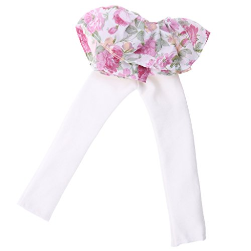 MagiDeal Fashion Puppe Kleidung Set Outfit Kleid Hose T-Schirt Pyjama für barbie Puppen Zubehör - # 2