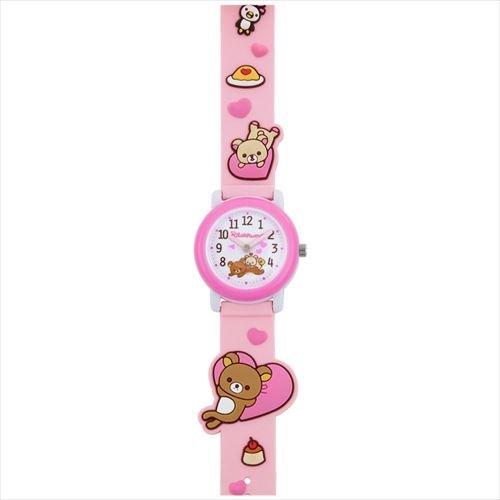 San-X Rilakkuma 3D Gürtel Uhren/Rosa Herz