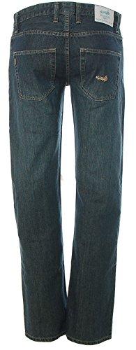Cliché Herren Jeans Hose Straight Cut Extra Small Dark Blue