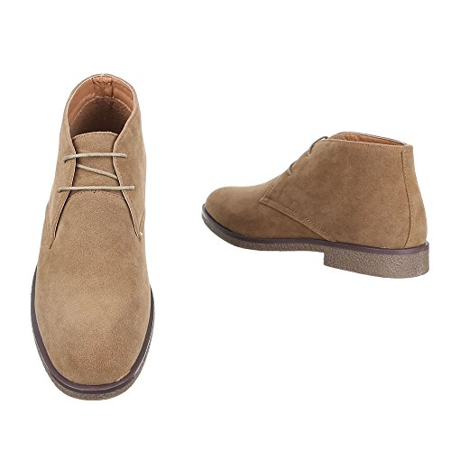 Largo Tacco Boots Uomo Scarpe Stivaletti Desert Italdesign Da Lacci Ap0wB1q