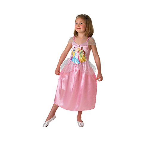Kostüm China Princess - Rubie's Disney Princess - i-880072s - Kostüm Klassische Multi-Princess - 3 - 4 Jahre - Gr. S