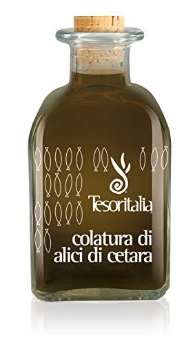 COLATURA DI ALICI CETARA TESORITALIA - 100 CL - Confezione da 6 bottiglie - 0,10 Cl x 6
