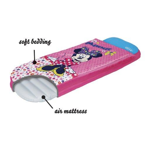Worlds Apart Minnie Mouse – Junior-ReadyBed – Kinder-Schlafsack und Luftbett in einem - 4