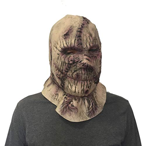 Vogelscheuche Teufel Maske, Horror Haunted House Bar Dance Cos Requisiten (Für Halloween Kinder Teufel-make-up)