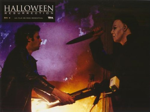Halloween: Resurrection Plakat Movie Poster (11 x 14 Inches - 28cm x 36cm) (2002) French C
