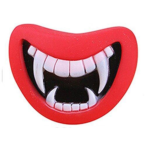 Kentop Hundespielzeug Lippen Zum Kauen Quietschspielzeug Kauspielzeug für Haustiere,Halloween Spielzeug für Hunde