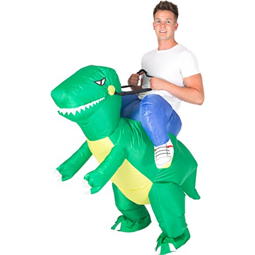 INFLABLE T-REX DINOSAURIO DISFRAZ