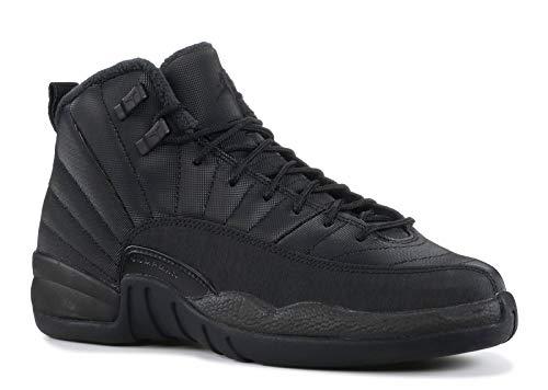 AIR Jordan 12 Retro WNTR (GS) 'Triple Black' - BQ6852-001 - Size 40-EU