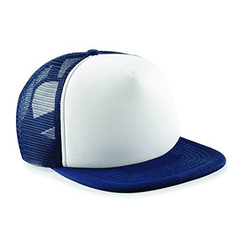 Navy Vintage Cap (Big Blue Vintage-Snapback Trucker - French Navy / White)