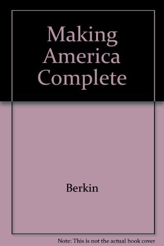 Making America: A History of the United States by Carol Berkin (1995-02-01)