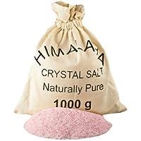 Finest Quality Fine Grade Edible Himalayan Salt - 1kg