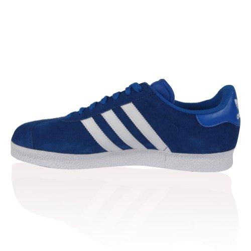 Homme Bleu en daim Adidas Originals Gazelle II Lace Up formateurs Chaussures Bleu - bleu