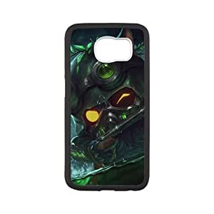 samsung galaxy s6 case , League of Legends-Omega Squad Teemo Cell phone case Black for samsung galaxy s6 - LLKK0715914