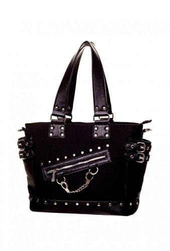 Banned Schulter - Tasche Metal Art Gothic Bag