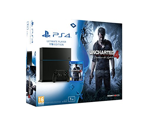 PlayStation 4 - Consola 1 TB + Uncharted 4