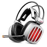 ZZRH Kopfhörer Kopfhörer Esports Gaming Desktop Notebook Universelles 7.1-Kanal-Headset mit Mikrofon