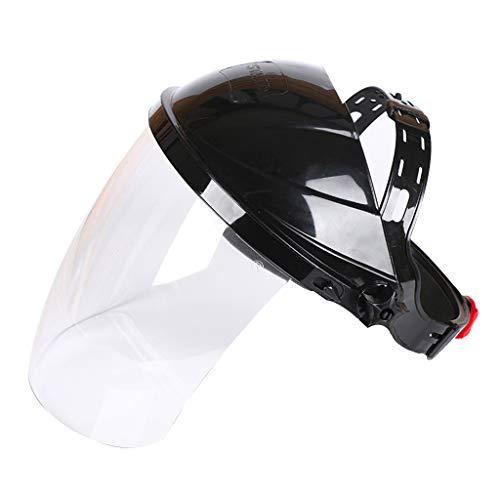CADANIA Transparent Schweißwerkzeug Schweißer Steuersatz Verschleißschutzmasken Auto Verdunkelung Schweißhelme/Gesichtsmasken/Elektroschweißmasken