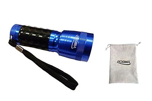 Scratch Clubs Golf (Posma GBT010 14 LED-Golfball-Finder Fackel UV-Taschenlampen-Retriever)