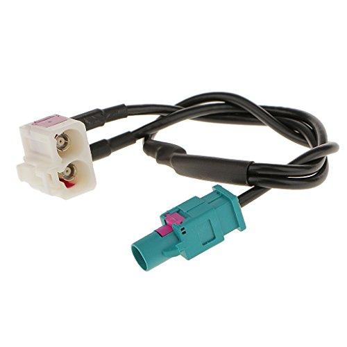 Preisvergleich Produktbild MagiDeal Antenne Adapter Antennen Verteiler Antennenstecker für VW