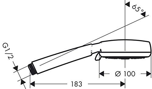 Hansgrohe Crometta 100 Multi Handbrause, 26823400 -