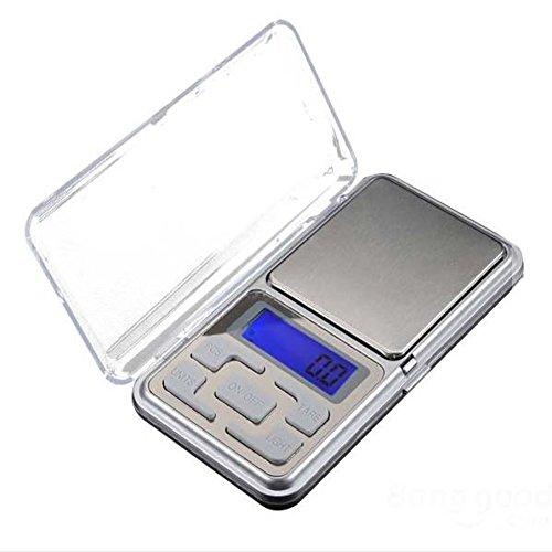FSEA 1 STÜCK Gewicht Waagen Elektronische Digitalwaage Tragbare Mini LCD Tasche Digital Schmuck Diamant Skala Gewichtung Skala Gewichtung