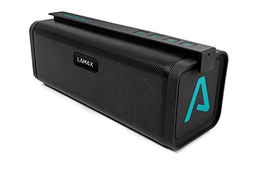 LAMAX BEAT Street ST-1 Mobiler Bluetooth Speaker Lautsprecher mit Powerbank Funktion und SD Card Slot