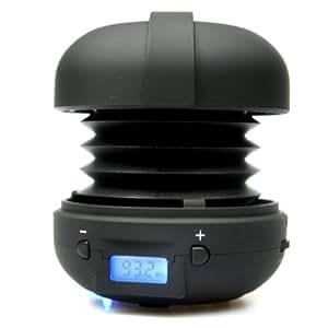 XMI X-mini Rave Capsule Speaker for iPhone/iPod/iPad/MP3 Player/Laptop - Black