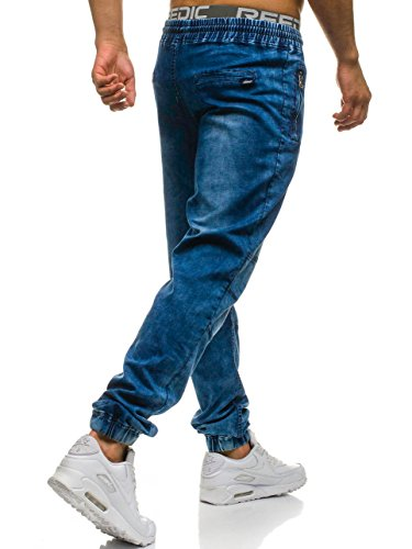BOLF Hombre Pantalones Jogger Estilo Urbano Bolsillos 6F6 Motivo 62f4b614d71a