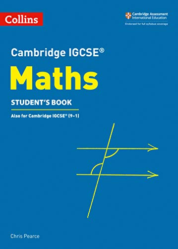 Cambridge IGCSE™ Maths Student's Book (Collins Cambridge IGCSE™) (Collins Cambridge IGCSE (TM)) por Chris Pearce