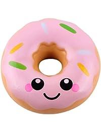zolimx Donuts Kawaii Squishy Juguete Alivio de TensióN de Levantamiento Lento Para Niños Adultos jSFqVeU